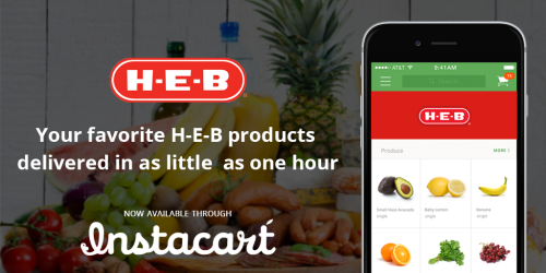 H-E-B Partners with Instacart for Grocery Delivery Service