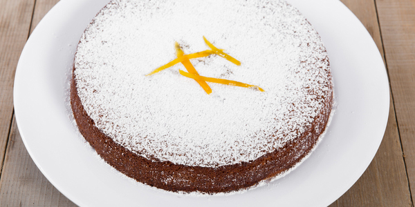 Holiday citrus olive oil cake